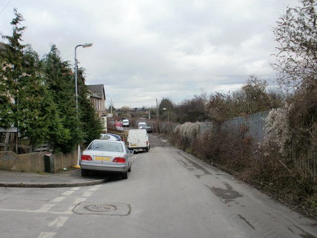 Far end of Libeneth Road, Newport
