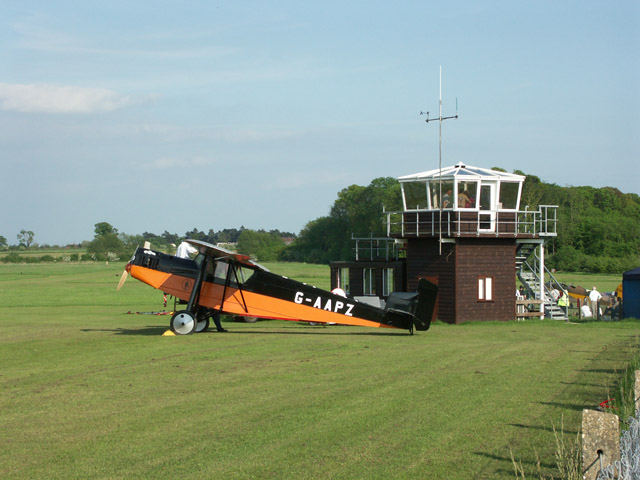 Control tower at Old Warden airfield