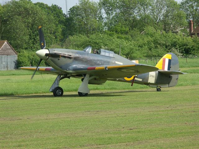 Sea Hurricane at Old Warden airfield