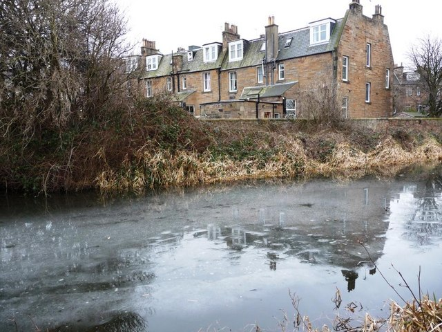 Ice on the Union Canal