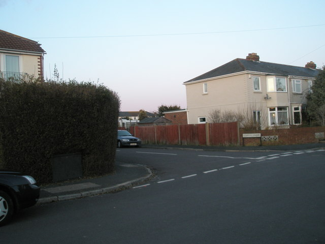 Junction of Windmill Grove and Coppins Grove