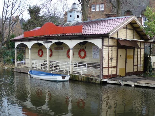The Edinburgh Canal Society's boat house