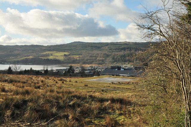 View to Lochgilphead