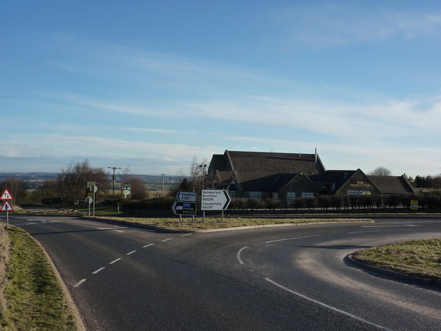 The Moorlands, a pub at Owler Bar