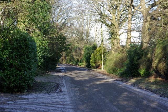 A frosty Mill Lane