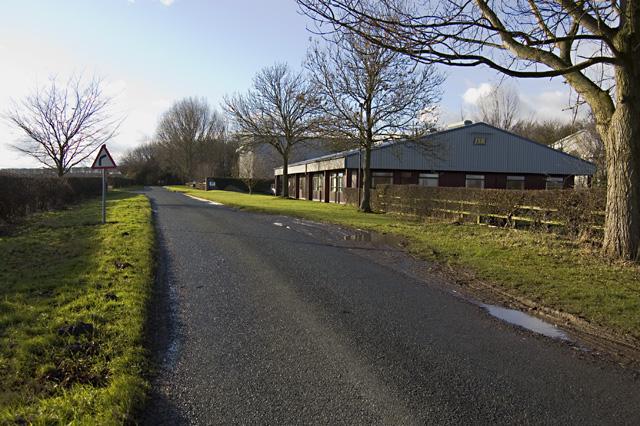 Lane south of Southburn