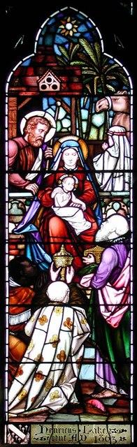 Highgate School Chapel, London N6 - Window