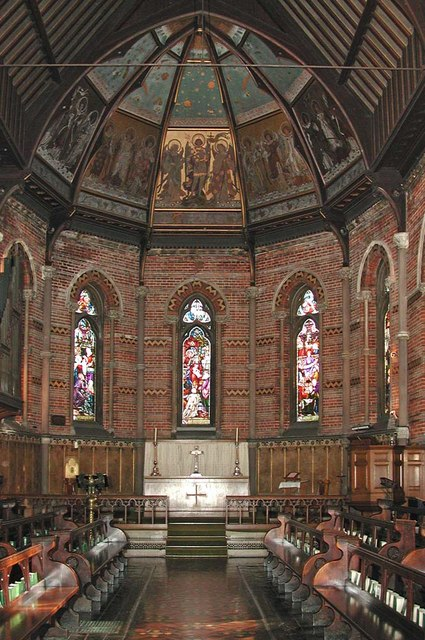 Highgate School Chapel, London N6 - East end