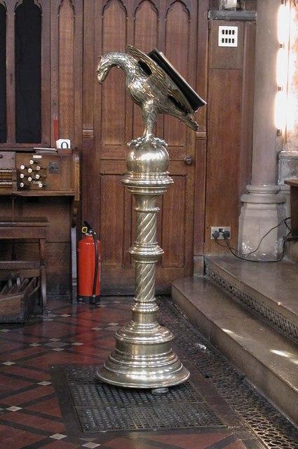 Highgate School Chapel, London N6 - Lectern