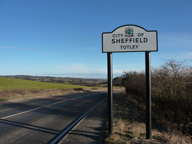 You are now entering Totley, Sheffield