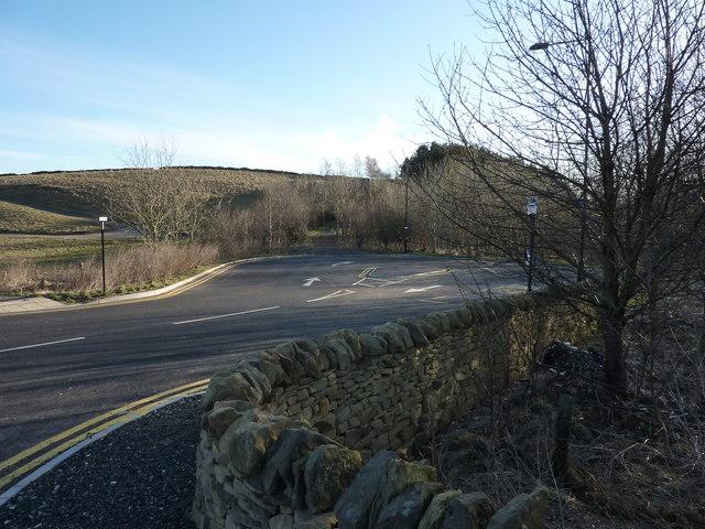 Bus Terminus, A621, Totley, Sheffield