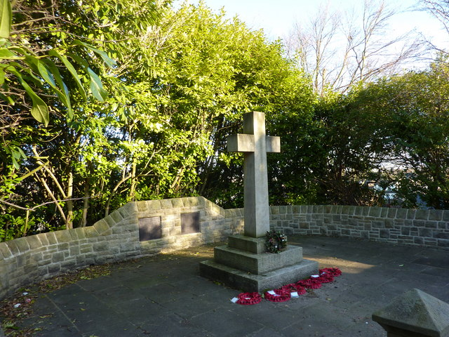 A War Memorial, Totley, Sheffield