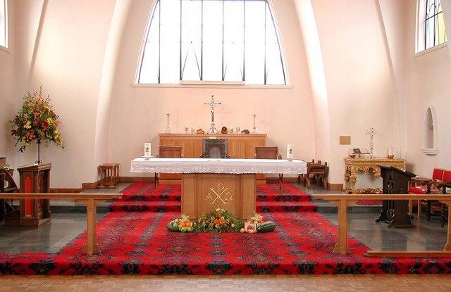 St Mary & St George, Hornsey, London N10 - Sanctuary