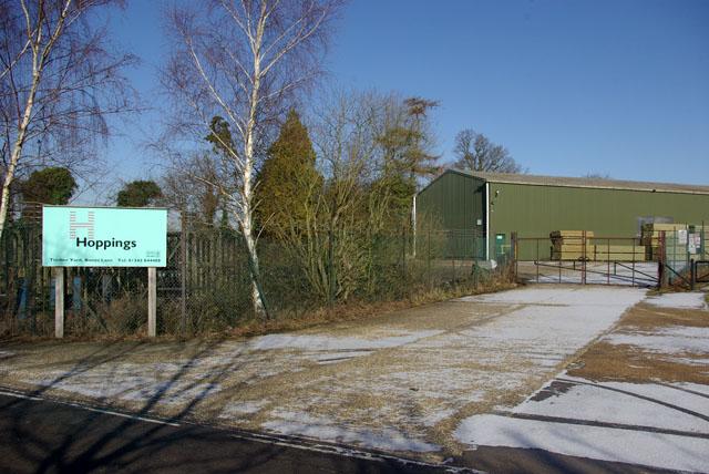 Entrance - Hoppings Timber Yard