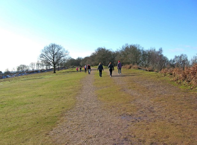 Walkers on Kinver Edge