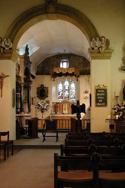 St Dunstan, Cranford Park - Interior