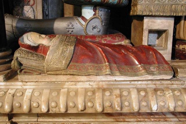 St Dunstan, Cranford Park - Monument detail