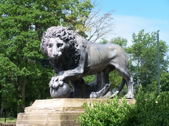 The other Lion, Stanley Park, Blackpool