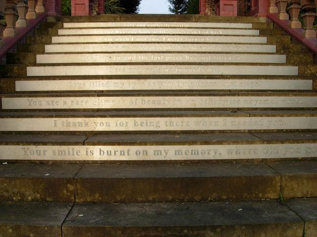 Steps in Hanley Park