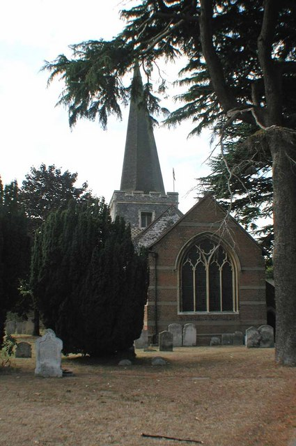 St Mary, Stanwell