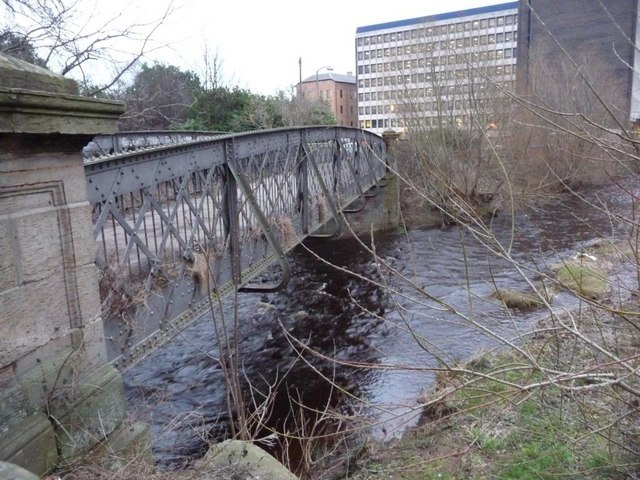 Ford's Road bridge crossing the Water of Leith