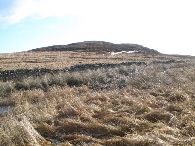 Boundary wall on the moorland