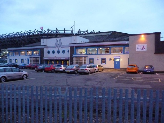 Entrance to Murrayfield Ice Rink