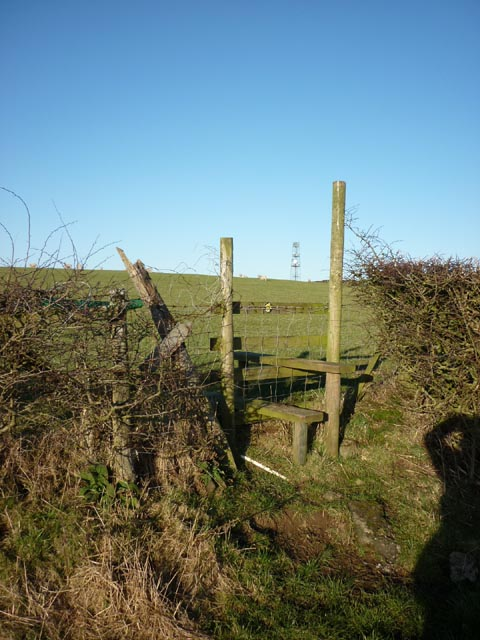 Stile near Middle Langthwaite