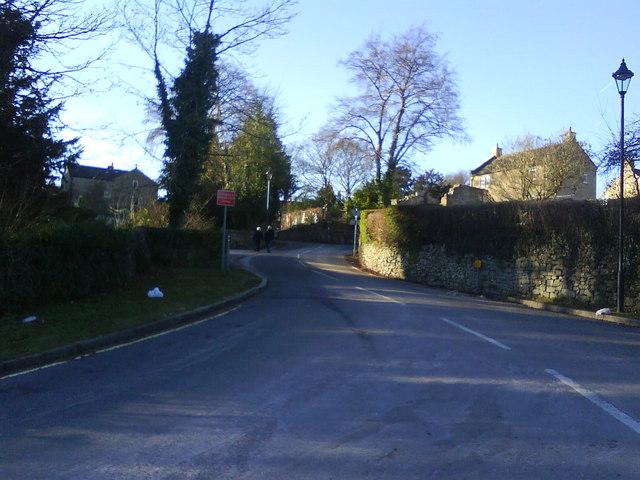 A nameless street, Eyam