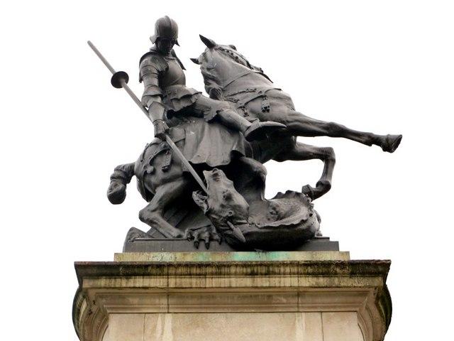 'George & the Dragon', Eldon Square War Memorial