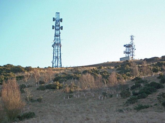Telecommunications Masts Binn Hill