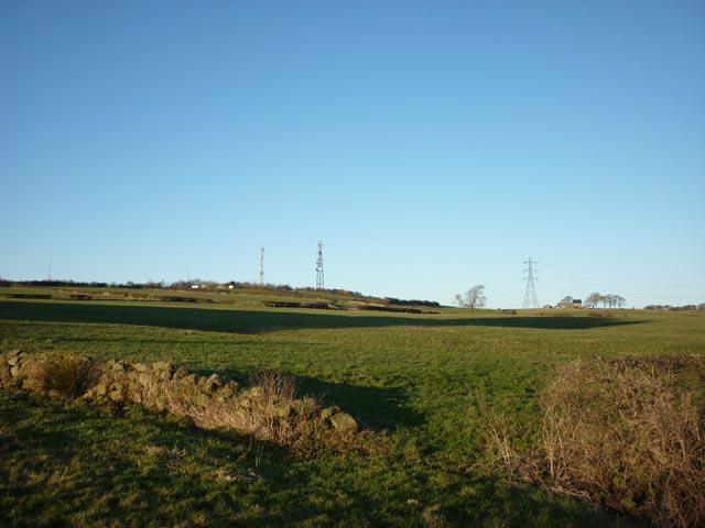 Telecom masts, Langthwaite