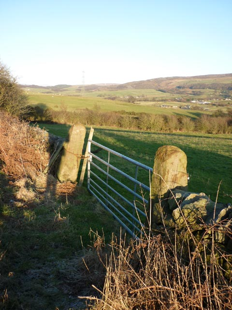 Gateway above the Conder