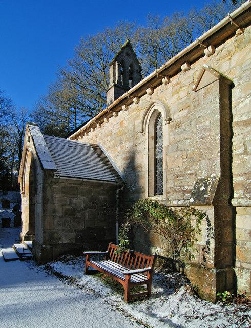 Holy Trinity Church, Hope, Shropshire