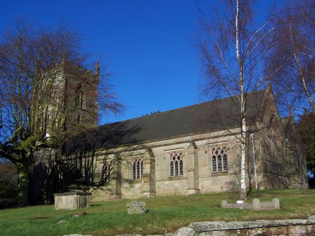 St Mary, Mucklestone