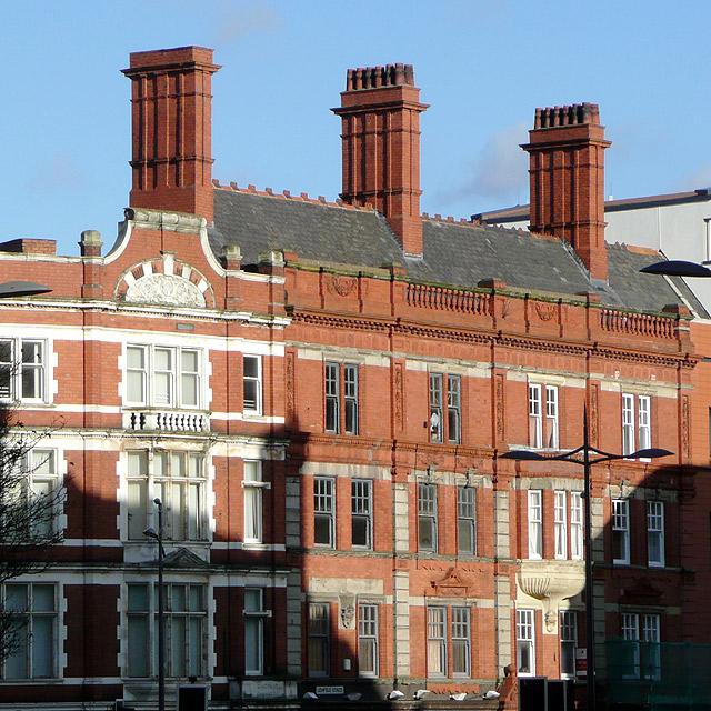 Architecture in Lichfield Street, Wolverhampton