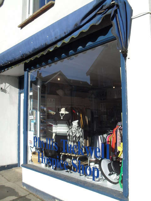 Phyllis Tuckwell Hospice Shop in Weyhill