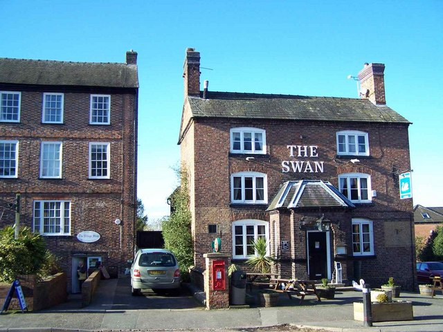 The Swan And The Village Shop, Betley