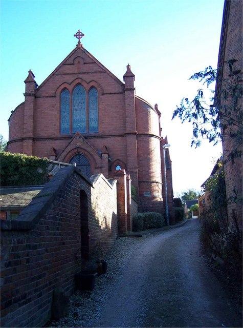 The Methodist Church, Betley