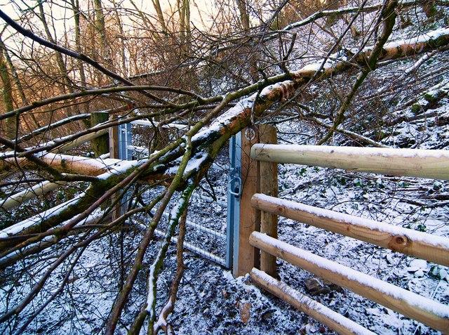 Blocked gate
