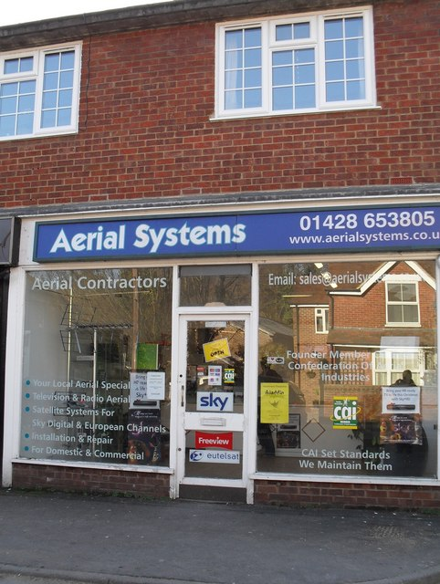 Aerial Systems in Weyhill