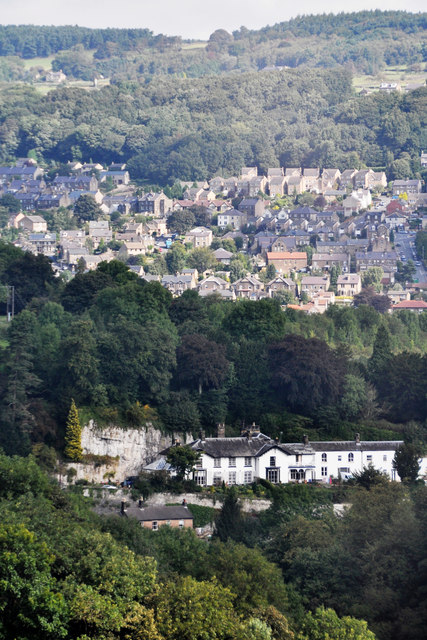 View over Matlock Bath