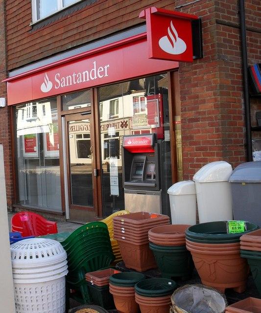 Santander in Weyhill