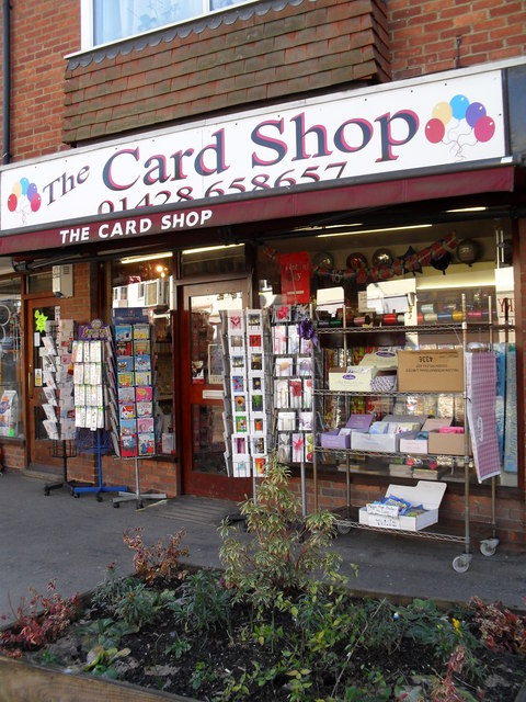 The Card Shop in Weyhill