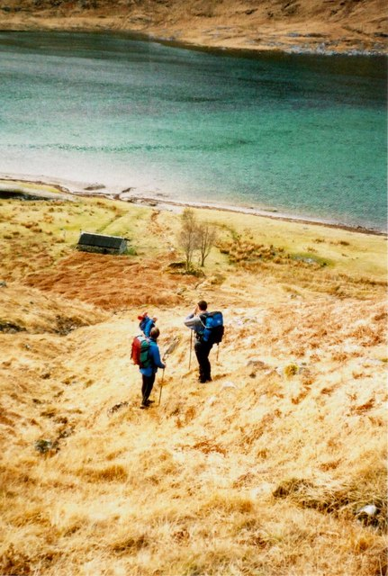 Sourlies and the head of Loch Nevis