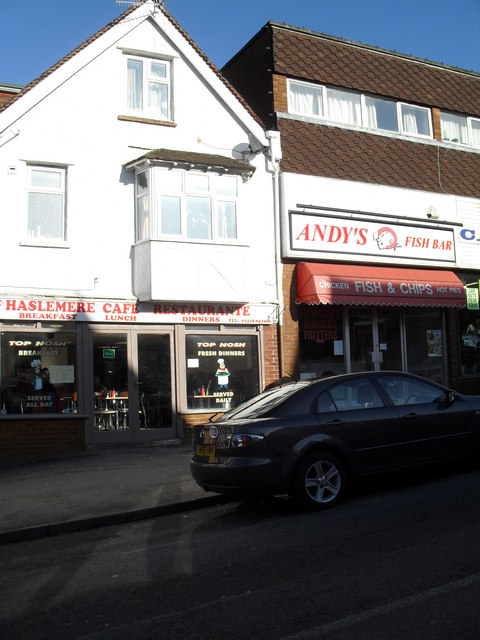 Food outlets in Weyhill
