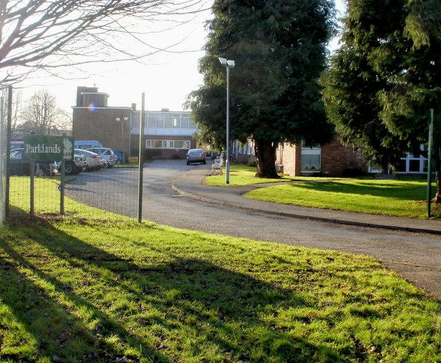 Entrance to Parklands, Malpas, Newport