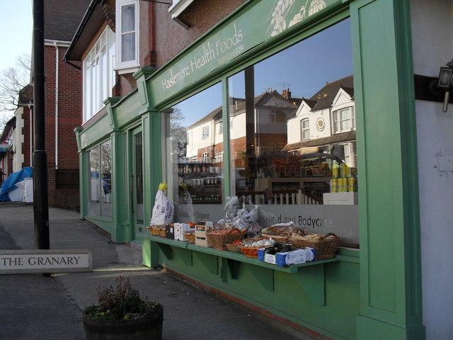Health food shop in Weyhill