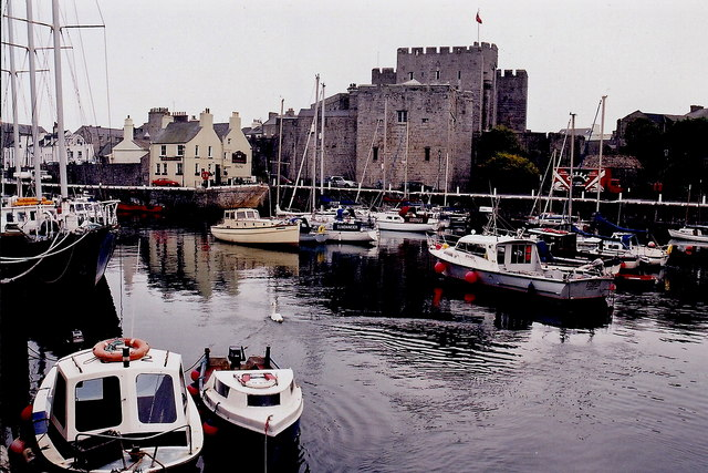 Castletown - Harbour and Castle Rushen