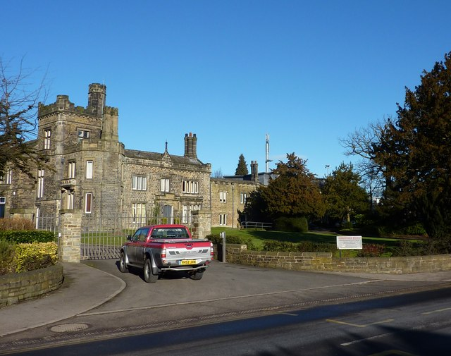 Abbeydale Hall and truck